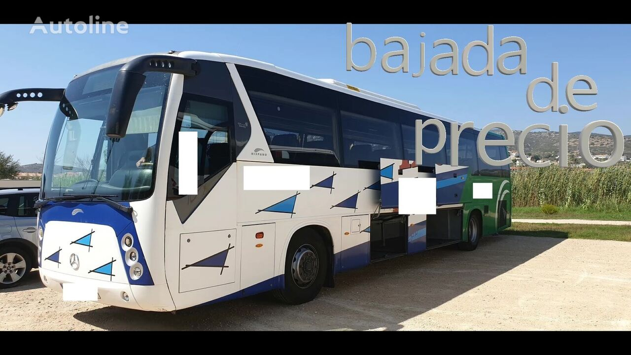 MERCEDES-BENZ OC500-RF1836 HISPANO 60PLZ autobús interurbano